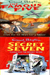 Famous Five (21 books) and Secret Seven (15 books)