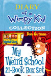 Dairy of Wimpy Kid (7 Books)  and My Weird School (21 Books)