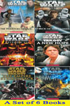 Star Wars Series - A Set of 6 Books