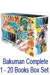 Bakuman Complete 1 - 20 Books Box Set